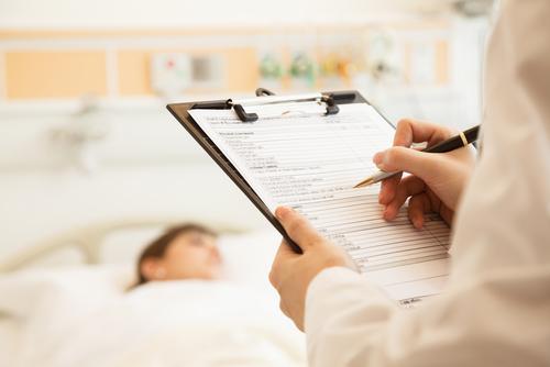 hospital bed, shutterstock